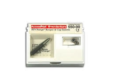 Accesspost Overdenture Brass Transfer Studs 3 Rings Size 3 6