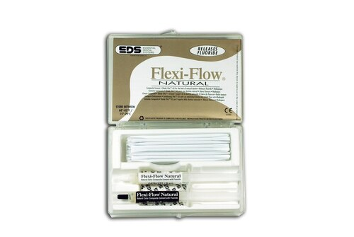 Flexi-Flowcem Composite Cement Natural  W/ Fluoride Shade Vi
