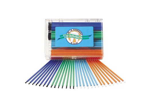 Zenith I.B. Disposable Benda Brushes Assorted 144/Pk
