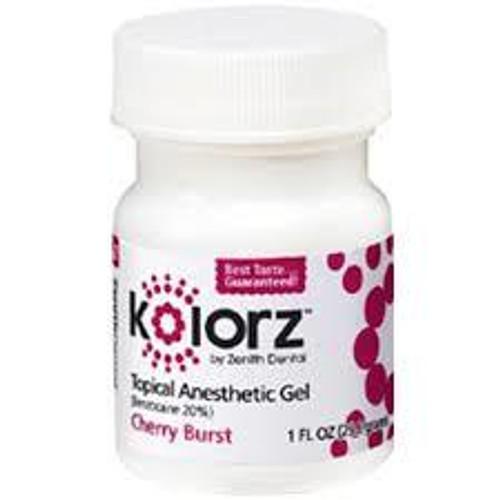 Zenith Kolorz Topical Gel Cherry Burst 1Oz