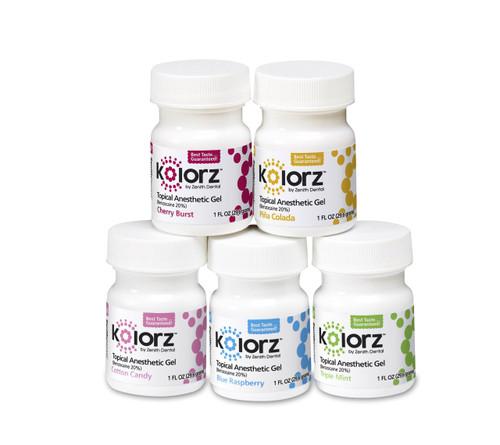 Zenith Kolorz Topical Gel Cotton Candy 1Oz