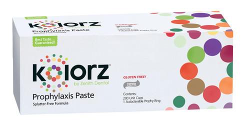 Zenith Kolorz Prophy Paste CarnIval Pak Fine 200Pk