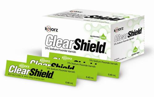 Kolorz Clearshield Fluoride Varnish Bubblegum 200/Pk