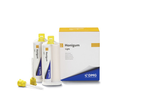 Honigum  Light 50mL (2-50mL Cartridges, 10 Automix And Tips)