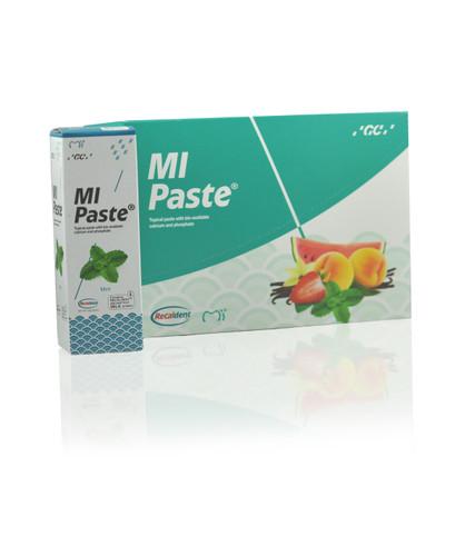 Mi Paste Plus Assorted  Flavors Pack, 10 Pcs W/Fluoride