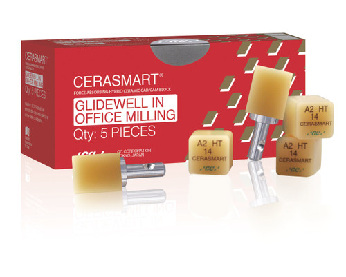Cerasmart 14 Glidewell In Office Milling A2 Lt 5/Pcs