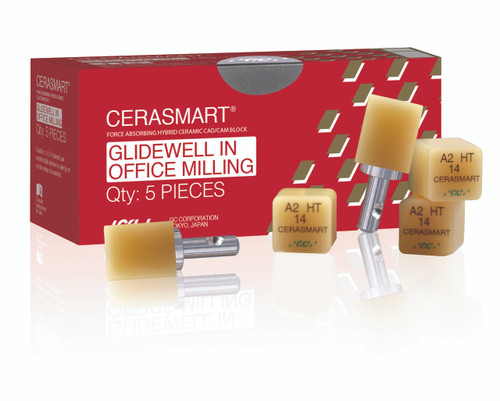 Cerasmart 14 Glidewell In Office Milling B1 Lt 5/Pcs