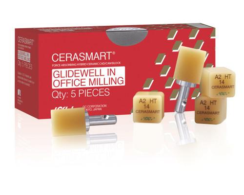 Cerasmart 14 Glidewell In Office Milling Bleach Lt 5/Pcs
