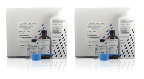 Tray Plastic Pdr White 3Lb