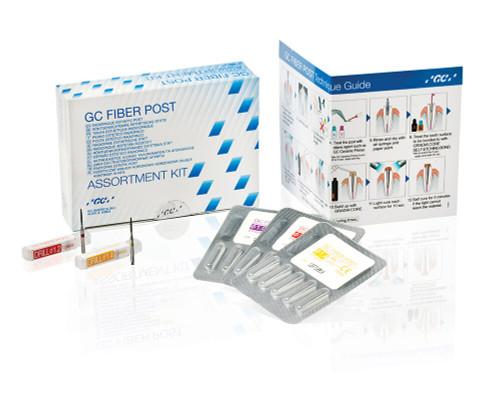 GC America Gradia Fiber Post Assrt Kit