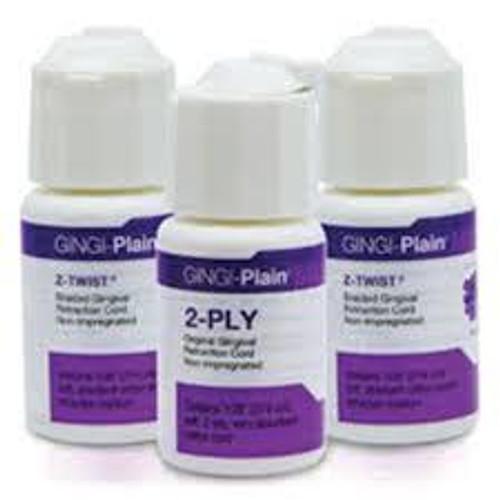 Gingi-Plain Retraction Cord 2Ply Plain