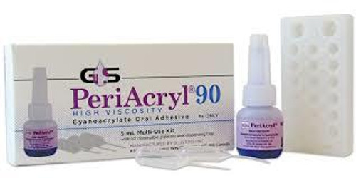 Glustitch Periacryl Oral Adhesive Kit (3) 3mL Btl