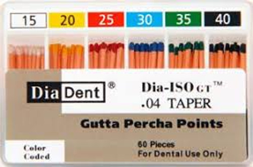 Diadent Gutta Percha Point .06 Taper 15-40