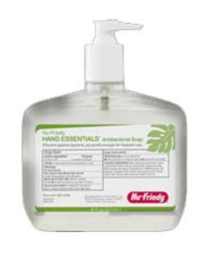 Hand Essentials Antibacterial Soap, 16 Fl. Oz. Bottle W/Pump