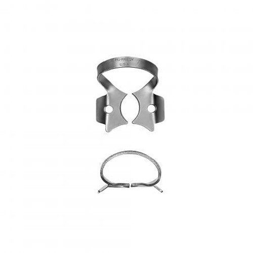 7 Satin Steel Rubber Dam Clamp