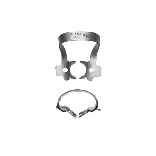 8Ad Satin Steel Rubber Dam Clamp