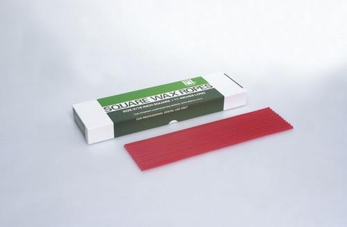 Hygenic Utility Wax Round Strips Bx80 3/16 X 11 White