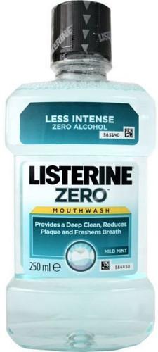 Listerine Zero 250mL 12Pk