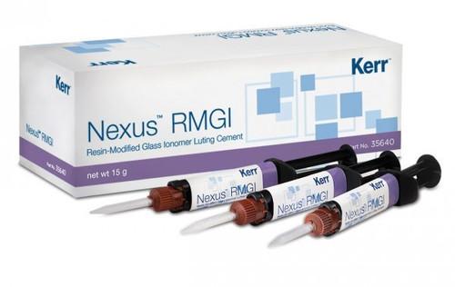 Kerr Nexus RmGI Standard Kit 3 X 5G Syringes, 24 Mixing Tips