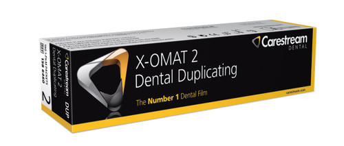 X-OMAT 2 DUPLICATING FILM 1 1/4 X 1 5/8 150/PK