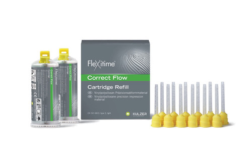 Flexitime Heavy Tray - 2 X 50mL Cartidges W/ Mixing Tips