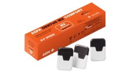 Agfa Dentus M2-58 E/F Speed Single Film Size 2 150/Box