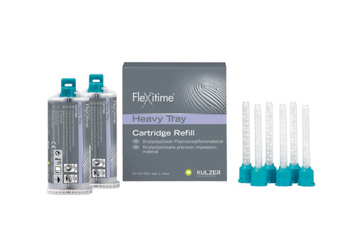 Flexitime Heavy Tray Bulk - 6 X 2 X 50mL Cartidges W/ Mixing