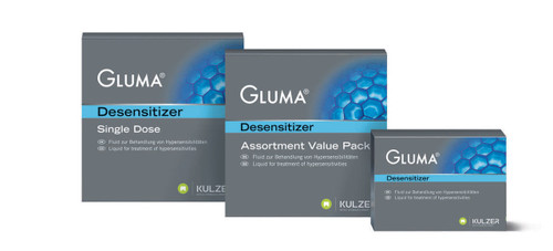 Gluma Desensitizer Clinic Pack 3 X 5mL