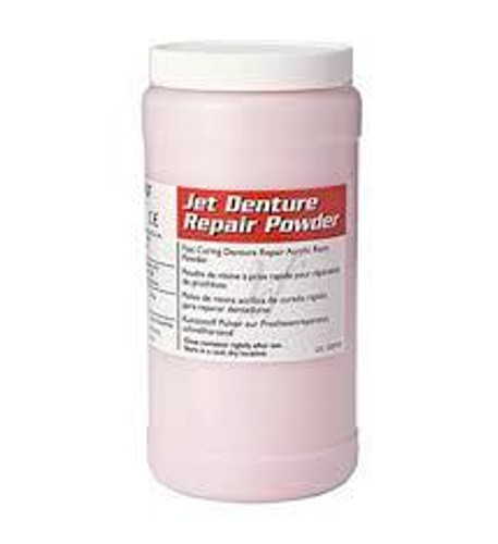 Jet Denture Repair 1-Lb Bttl Powder 454G-Clear