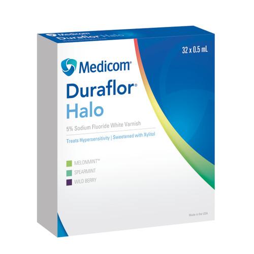 Duraflor Halo 5% Sodium Fluoride Varnish Wild Berry 32Pk