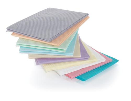 Medicom Plastic Back 2 Ply Towel Mauve 500Pk