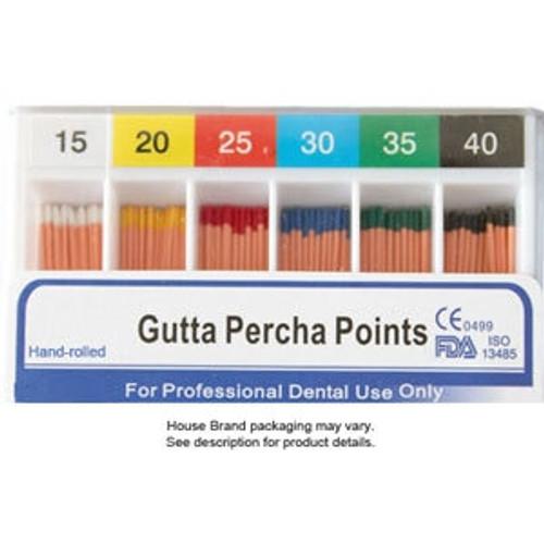 Gutta Percha Points Asst 45-80 C.C. 120 Points Sliding Box