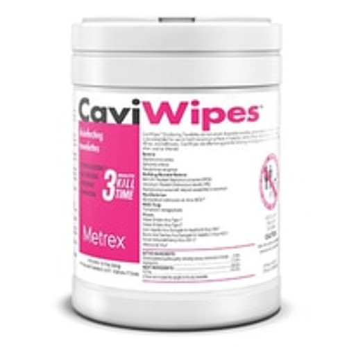 CaviWipes XL Towelettes Surface Disinfectant 65/Canister