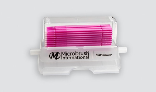 Microbrush Plus Kit Applicators+Dispenser