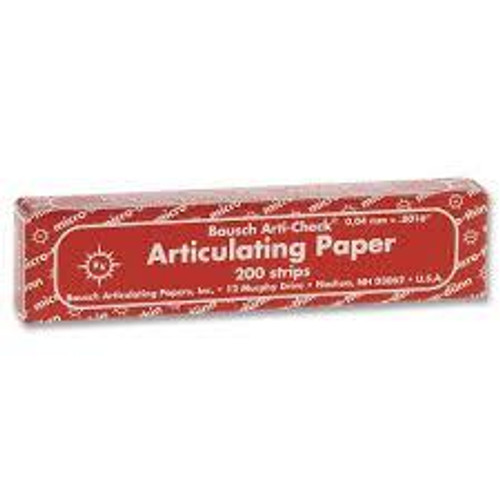 Articodent Thin Red Articulating Paper25Ft RL