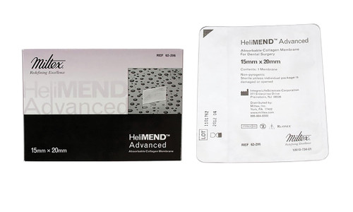 Helimend Advanced Absorb Collagen Membrane 15mm X 20mm Each