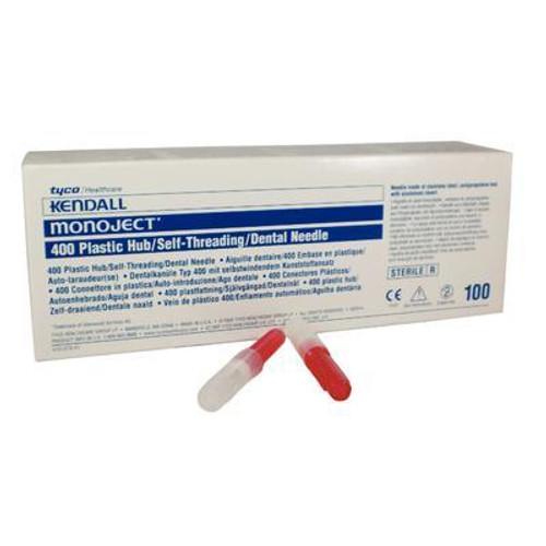 AllSmiles Needle 27 Short 400 Plastic Hub 100/bx