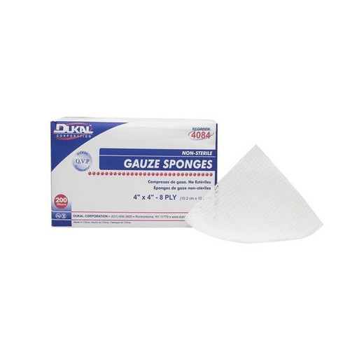 4X4 Nonsterile Sponges Pkg 200