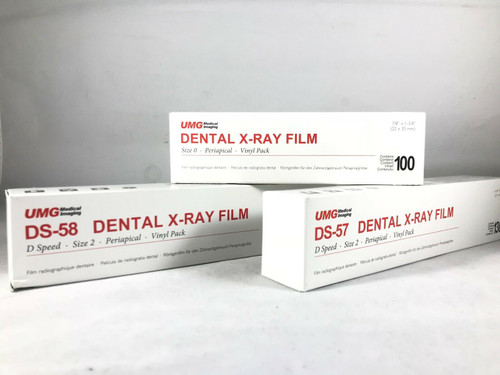 X-Ray D58 Adult Fillm #2 Super Soft Single Film 150/Box