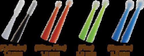 AllSmiles Microbrush Fine - (400) Applicators -  Asstd Colors