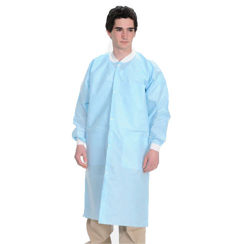 AllSmiles Blue Lab Coat - Large