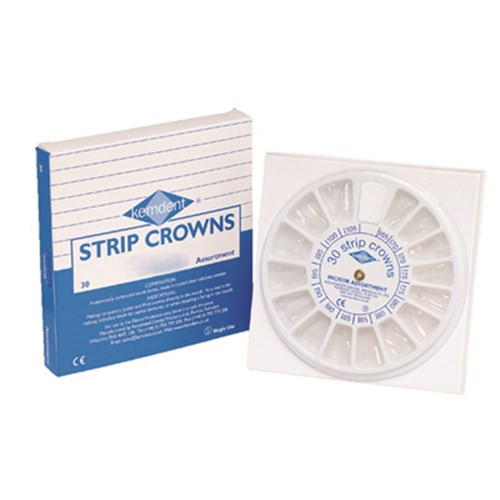 Deluxe Adult Strip Crown Refill Lower Bicuspid #1 5Pk