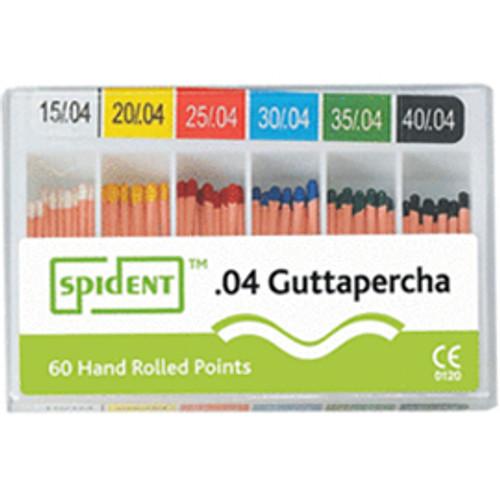M&S Gutta Percha Points #30 .04 Taper Cc Lm 120/Bx