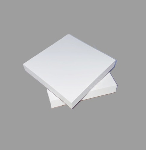 AllSmiles Mixing Pads 3X3 Poly Coated 50 Sheets/Pad