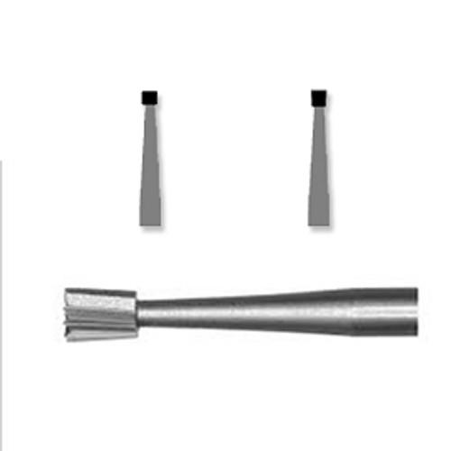 AllSmiles Carbide FG 25/Pk # 8 FG  Inv Cone  - Indiv Pk