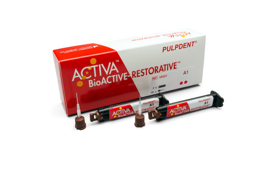 Pulpdent ActIva Bioactive Restorative A2 Value Refill 5mL