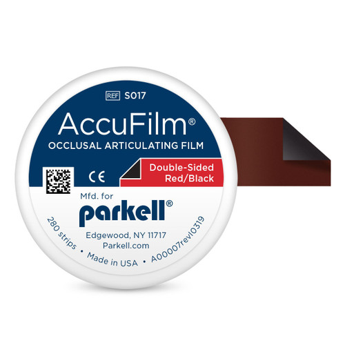 Accufilm II Double Sided Red/Black 280 Strips