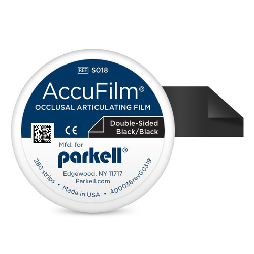 Accufilm II Double Sided Black/Black 280 Strips