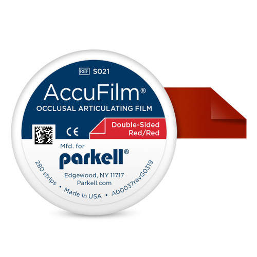 Accufilm II Double Sided Red/Red 280 Strips