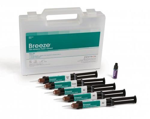 Breeze Cement 4 Gm Syringe Rfl  - Translucent